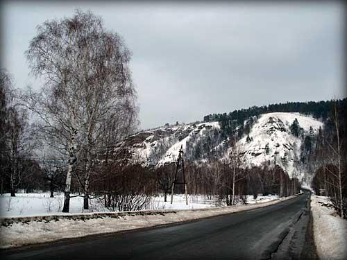 Дорога в Зольное Тольятти ФОТО
