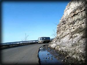 Зольное Тольятти Самарская область горная дорога Фото