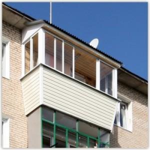 Отделка балконов и лоджий пластиком в Самаре фото