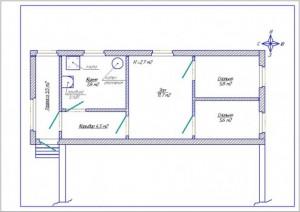 Фнутренний план дома - объявление с фото