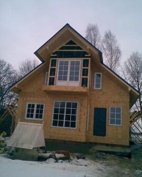Строительство и отделка домов и колодцев фото