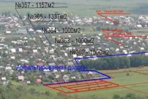 План застройки земельных участков под Самарой