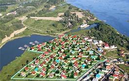 Продажа земельных участков в коттеджном поселке Сказка фото