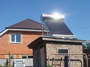 Объявление с фото - продажа солнечных коллекторов