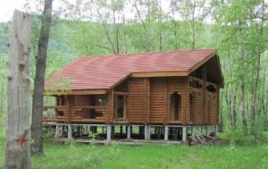 Фото домик на турбазе
