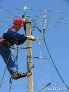 Фото работа электрика по ремонту линий электропередач