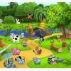 Интересная детская онлайн игра в социальной сети ежик Пашка