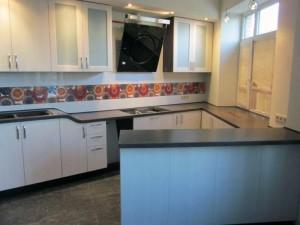 Фото дизайн помещения с применением жидкого камня