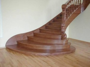 Фото деревянная лестница