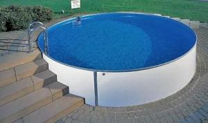 Фото каркасный бассейн на даче