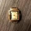 Часы золотые Заря