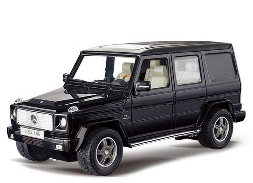 на фото Радиоуправляемый Mercedes G55 (Гелендваген, 1:14, 33 см) детская игрушка