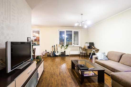 На фото квартира, купленная через агентство недвижимости - условие безопасности сделки